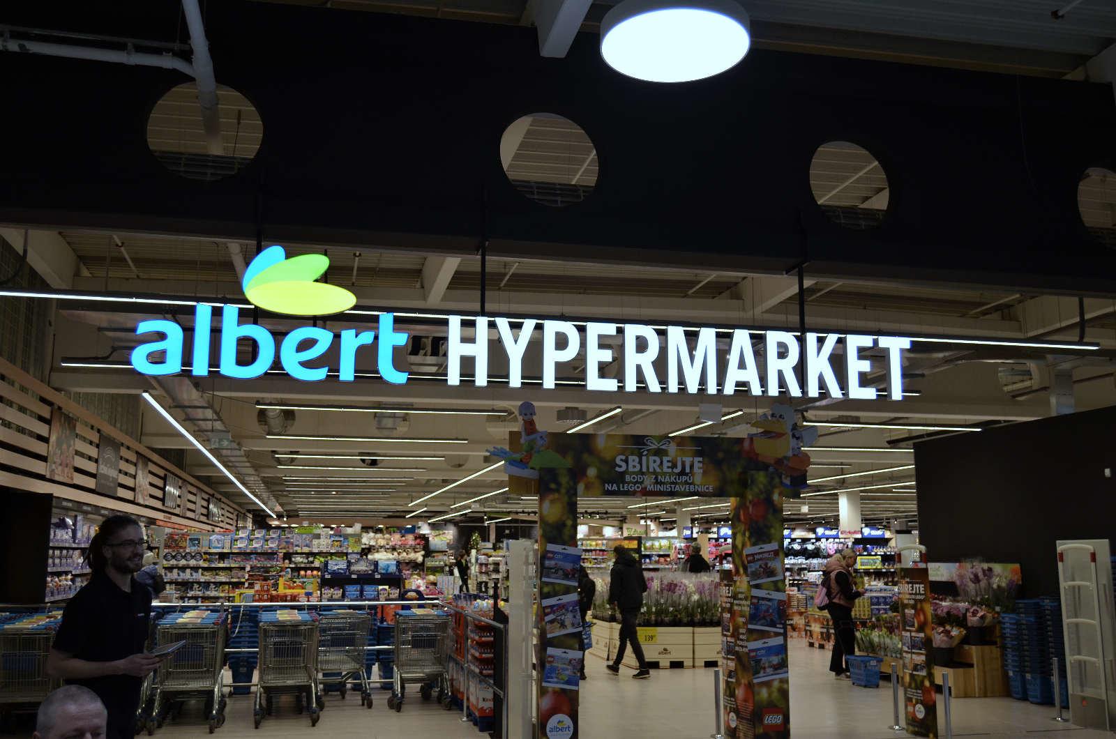 Albert hypermarket Brno slavnostni otevreni 2019 4