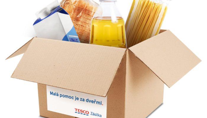 Tesco rozjelo novou službu pro nákup trvanlivých potravin online