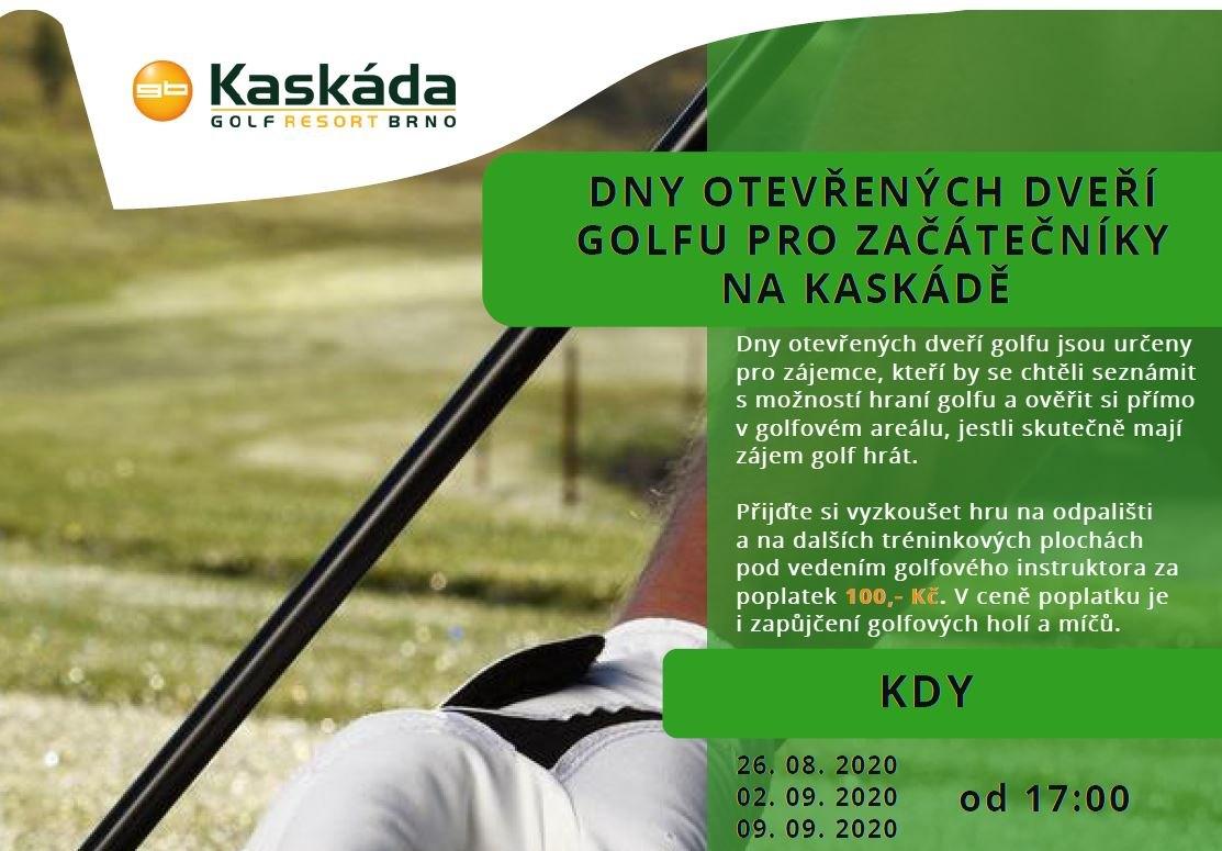 Pozvánka na golf
