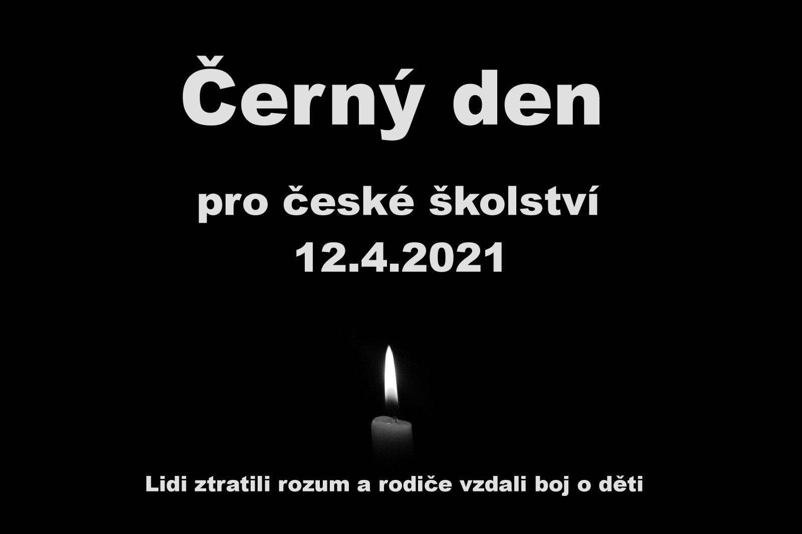 Černý den pro české školství