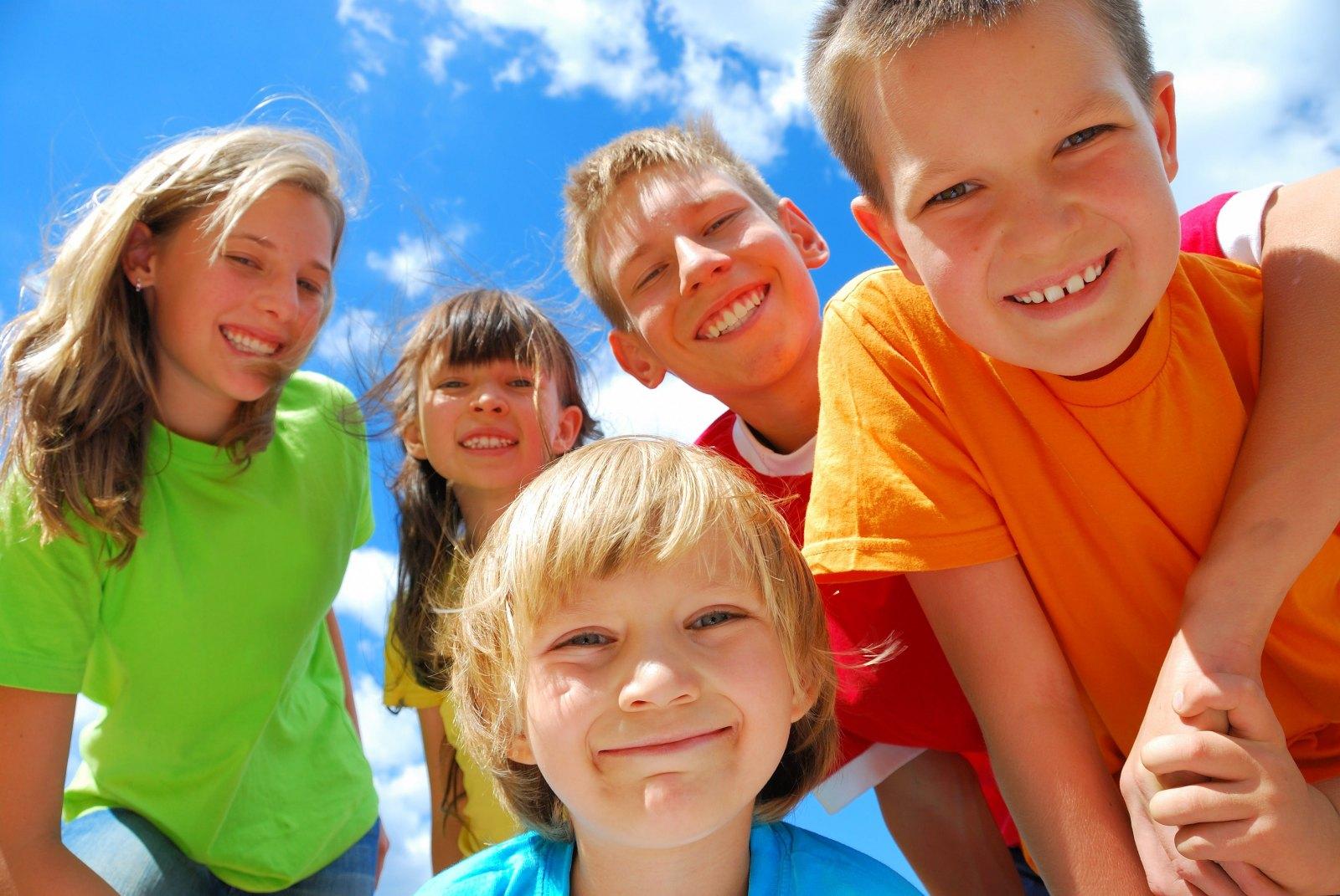 Šťastné děti jsou zdravé děti