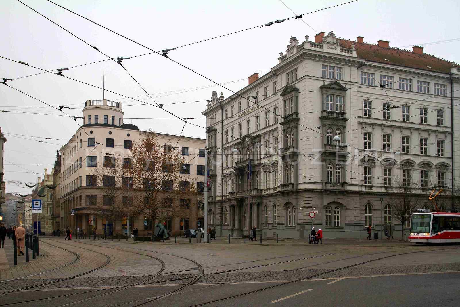 Brno budovy