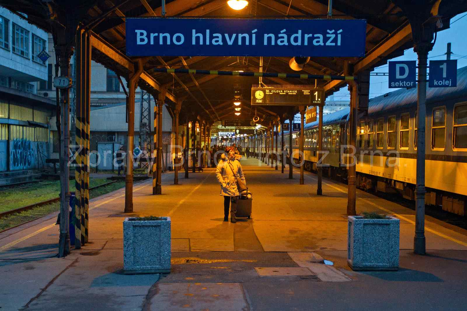 Brno hlavní nádraží