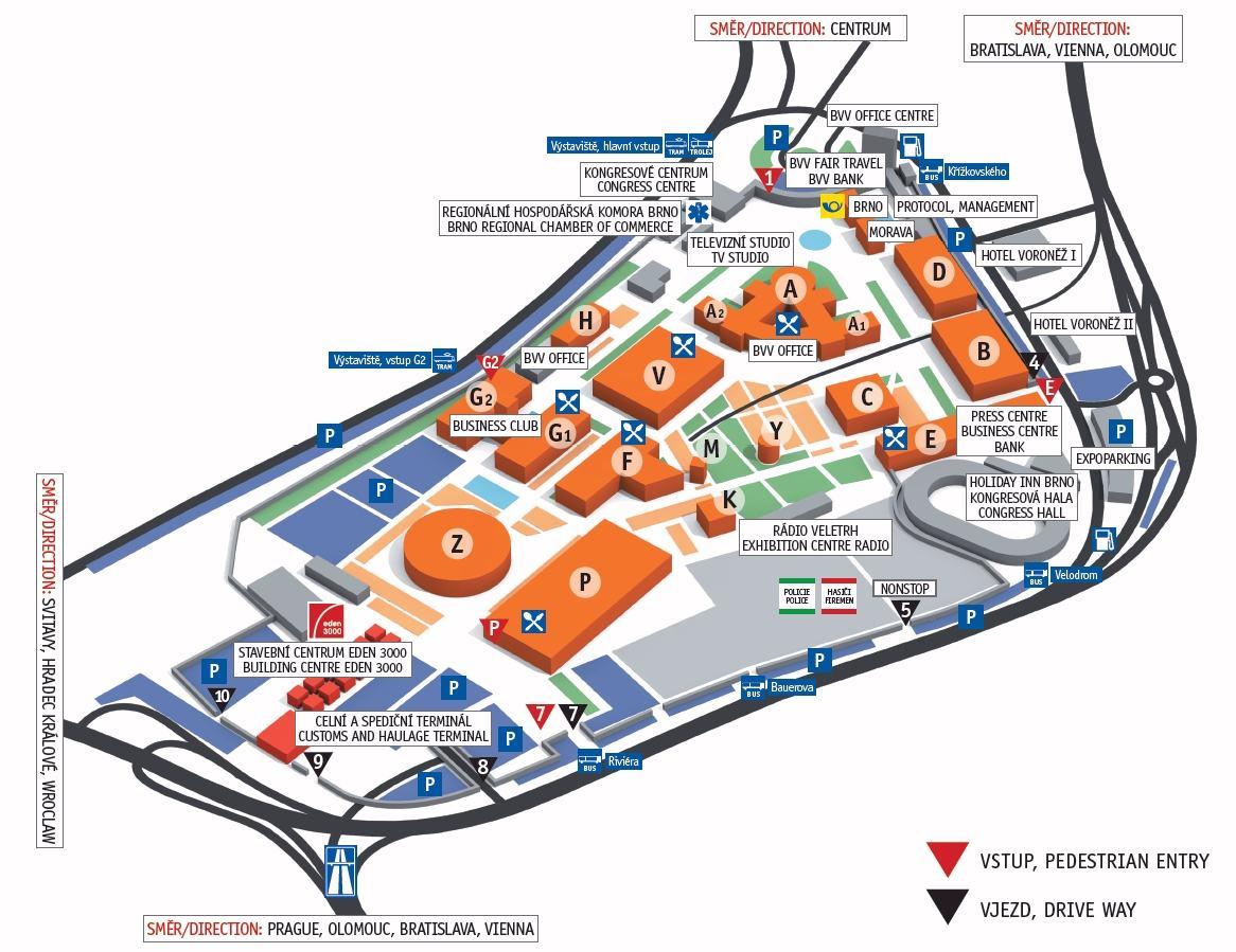 Mapa BVV