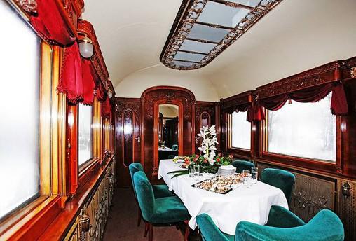 TGM prezidenstký vlak